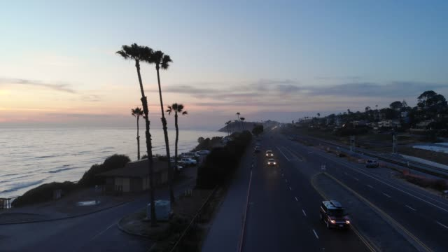 vídeos de stock e filmes b-roll de coast highway - estrada 001