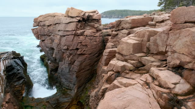 Coast in Acadia National Park video