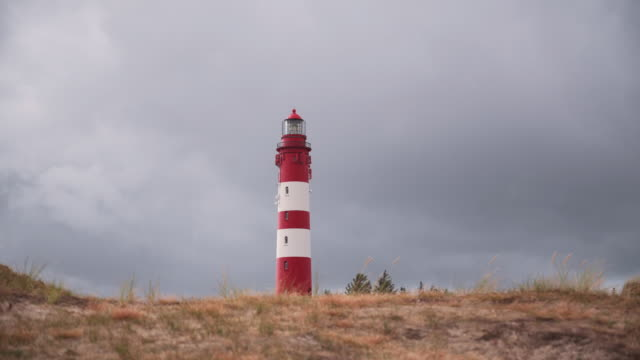 Coast Landscape with a lighthouse, Island of Amrum