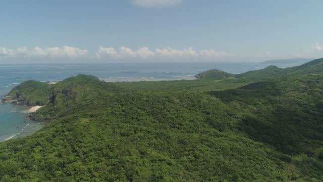 vídeos y material grabado en eventos de stock de costa de la isla de palau. filipinas - palaos