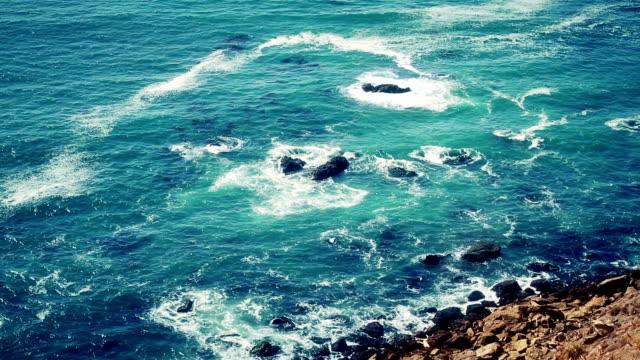 Coastal scene in California near Big Sur video
