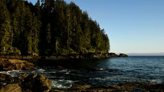 Coastal time lapse video