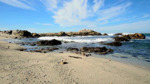 coastline landscape video