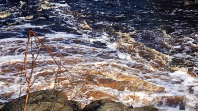 Coastline of speed water video