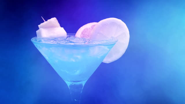 Cocktail In Smoky Party Atmosphere video