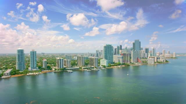 AERIAL Coconut Grove, Miami, Florida video
