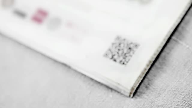 QR code reading   ID video