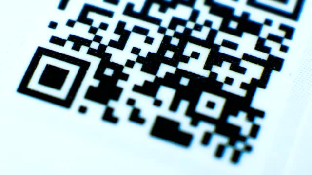 qr コードです。 - 医療用スキャン点の映像素材/bロール