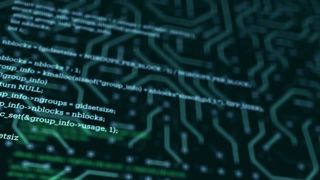 Coding, Network Security, Cyber Security, Digital Protection, Computer Hack Background
