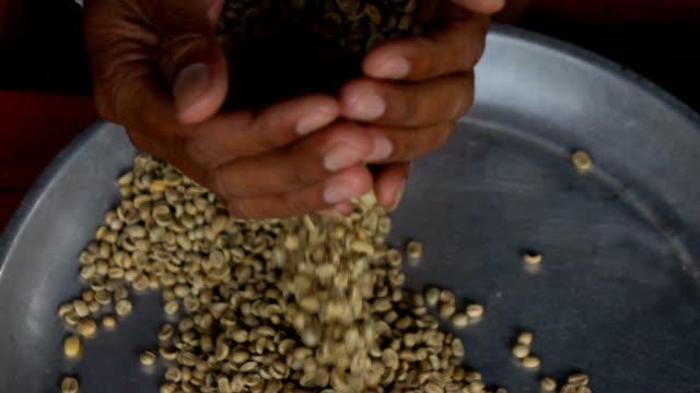 Coffee bean Slow motion video
