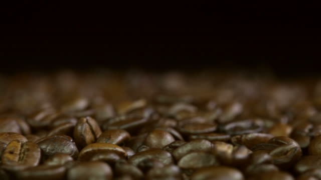 coffee beans with text space coffee beans with text space  kaffee stock videos & royalty-free footage