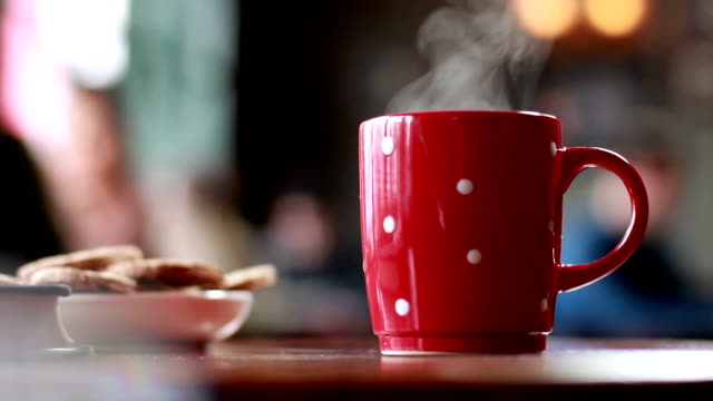 Coffee break Coffee or Tea break mug stock videos & royalty-free footage