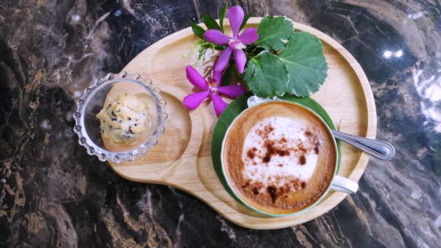 Coffee Cookies On Wood Plate Shot On Smart Phone