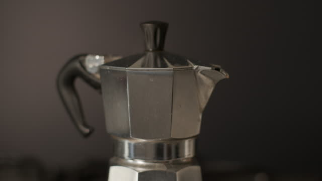 a coffee maker that makes coffee - essential workers stock videos & royalty-free footage
