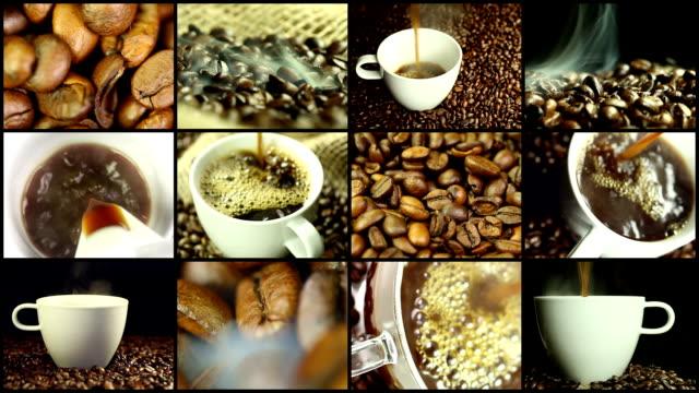 コーヒー-モンタージュ ビデオ