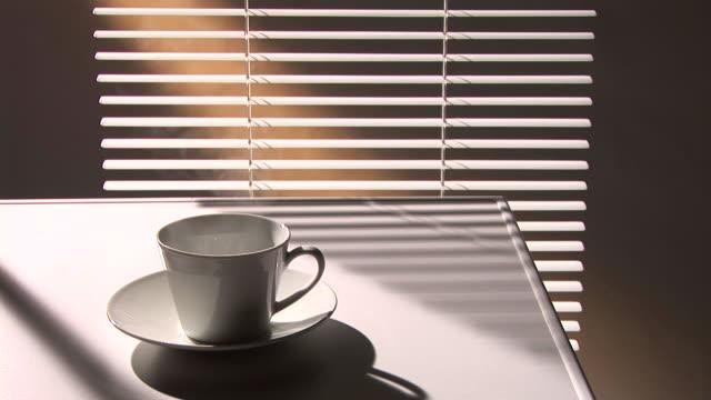 HD LOOP: Coffee steam video