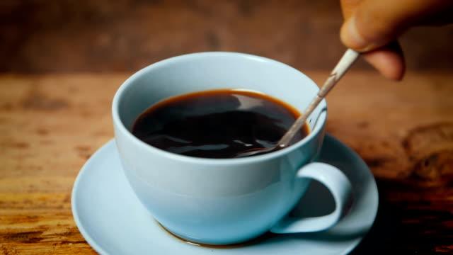 vídeos y material grabado en eventos de stock de tiempo de café - café negro