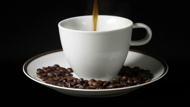 coffee time coffee time kaffee stock videos & royalty-free footage