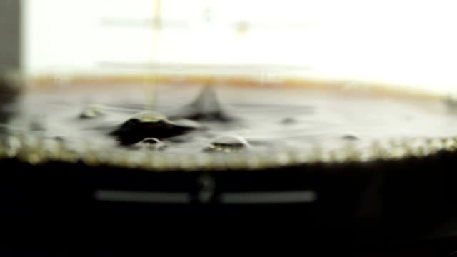 kaffee - schwarzer kaffee stock-videos und b-roll-filmmaterial
