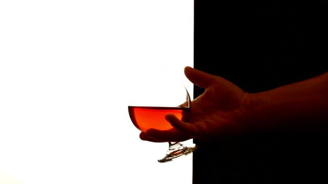 cognac - brandy video stock e b–roll
