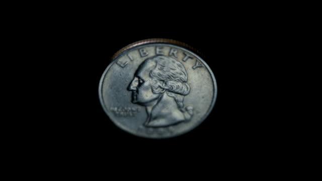 жеребьевке - монета стоковые видео и кадры b-roll