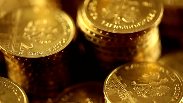 coins, currency coins, currency treasury stock videos & royalty-free footage