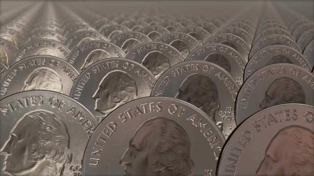 coins looping video