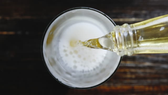 cold fresh beer fresh beer. concept of a bar or pub serving fresh cold and tasty beer lager stock videos & royalty-free footage
