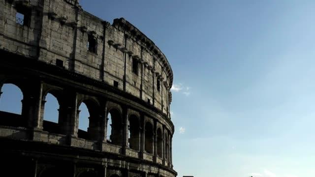 Coliseum, Rome, Italy, Time Lapse video
