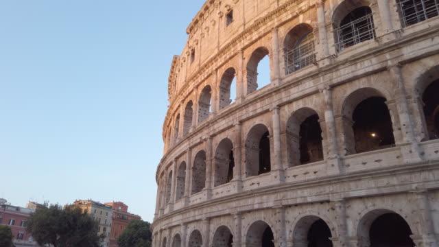 coliseum, roma, i̇talya - roma i̇talya stok videoları ve detay görüntü çekimi