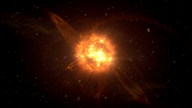 Collapsing Star video