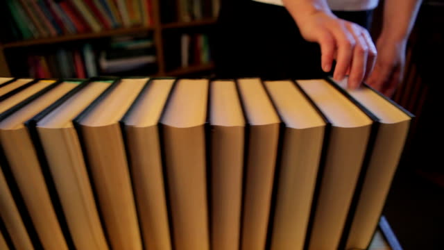 Collecting books video