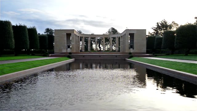 Colleville, France - The American Cemetery video
