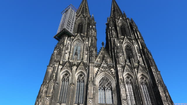 Cologne, Germany, The Famous Cathedral, Monument of German Catholicism and Gothic Architecture