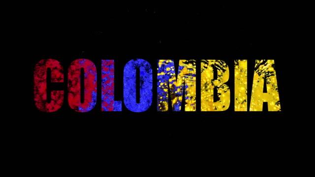 コロンビア。 - 独立点の映像素材/bロール