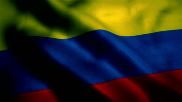 Colombian Flag, Colombia Flag video