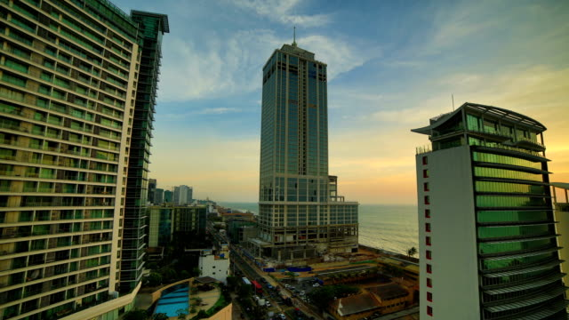 Colombo, Sri Lanka: 4K day to night Sri lanka time lapse and aerial footage series colombo stock videos & royalty-free footage