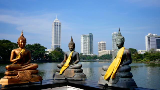 vídeos de stock e filmes b-roll de colombo, sri lanka: 4k high-rise apartments - sri lanka