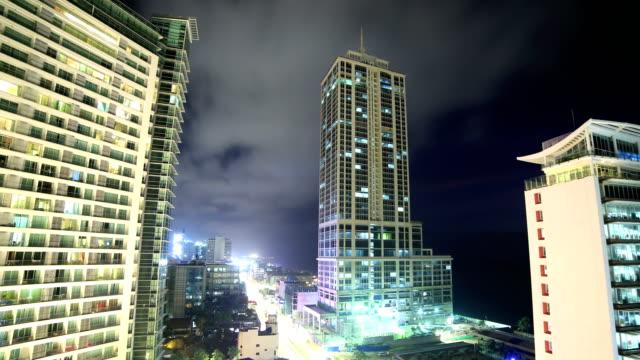 Colombo, Sri Lanka 4k: night time lapse Sri lanka time lapse and aerial footage series colombo stock videos & royalty-free footage