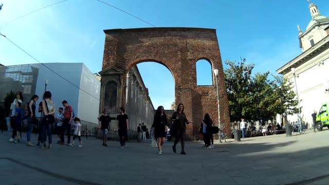 Colonne di San Lorenzo (Columns of San Lorenzo) Timelapse video