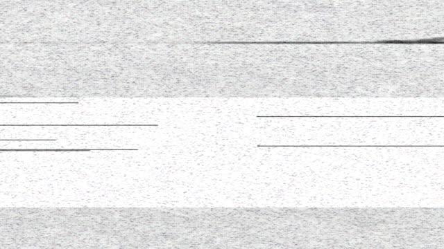 TV color bars malfunction video