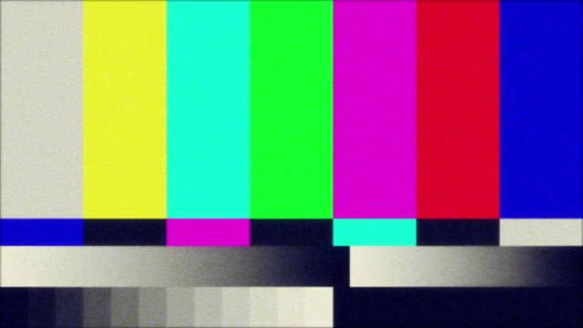TV Color Bars Test Screen video