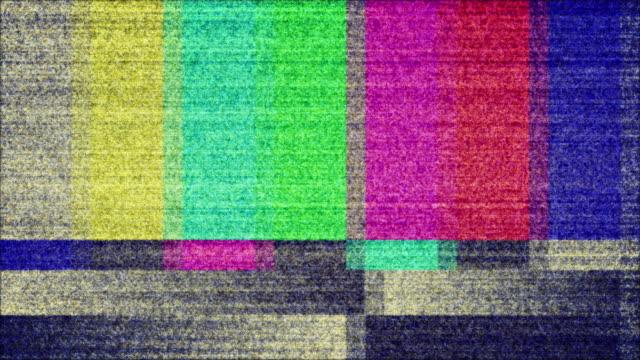 TV Color Bars Test Screen video