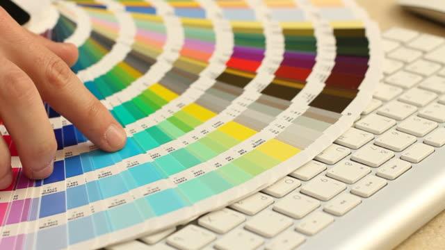 Color guide palette video