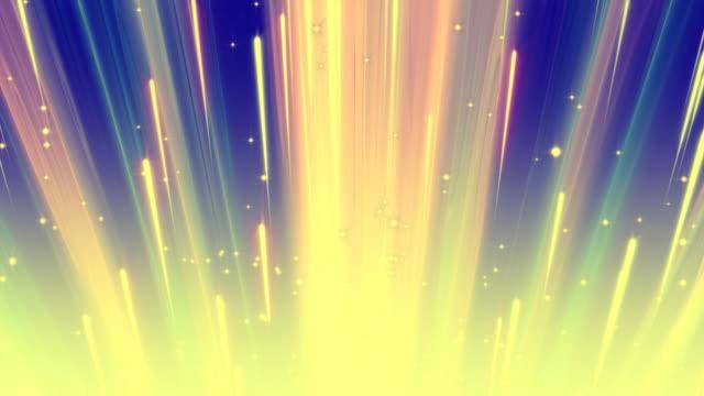 Color Light Streaks Background Loop video