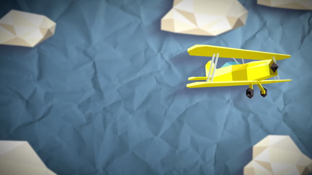 Color Low Poly Sky video