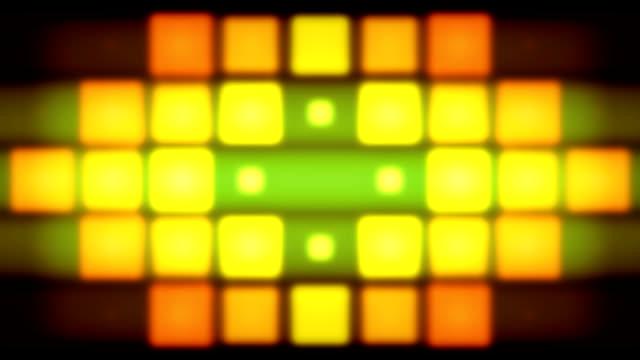 Color pixels lights video