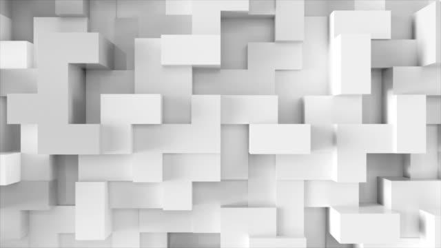 vídeos y material grabado en eventos de stock de bloques de cambio de color. - material de construcción