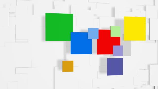 Cubist style stock videos