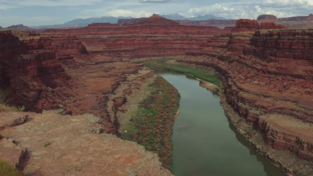 Colorado river and plateau near Moab
